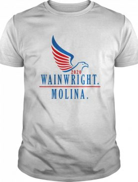 Wainwright Molina 2020 tee grand slam sports gift idea shirt