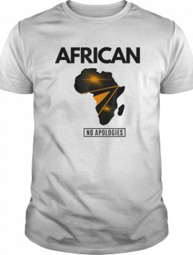 African No Apologies shirt
