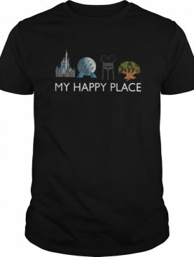 Meet Me At My Happy Place shirt