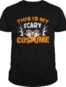 This Is My Scary Custome shirt