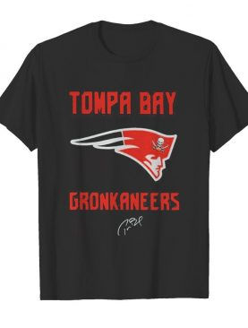 Tompa bay gronkaneers new england patriots signature shirt