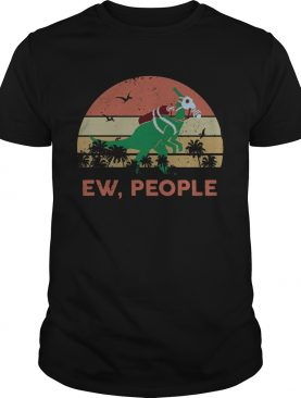 Dinosaur Ew People Vintage Retro shirt
