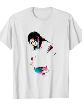 Michael Jackson Art Paint shirt