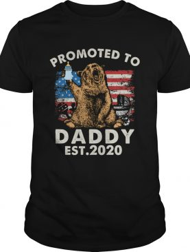 Promoted to daddy shirt