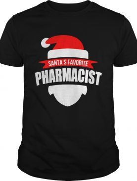 Santas Favorite Pharmacist Christmas shirt