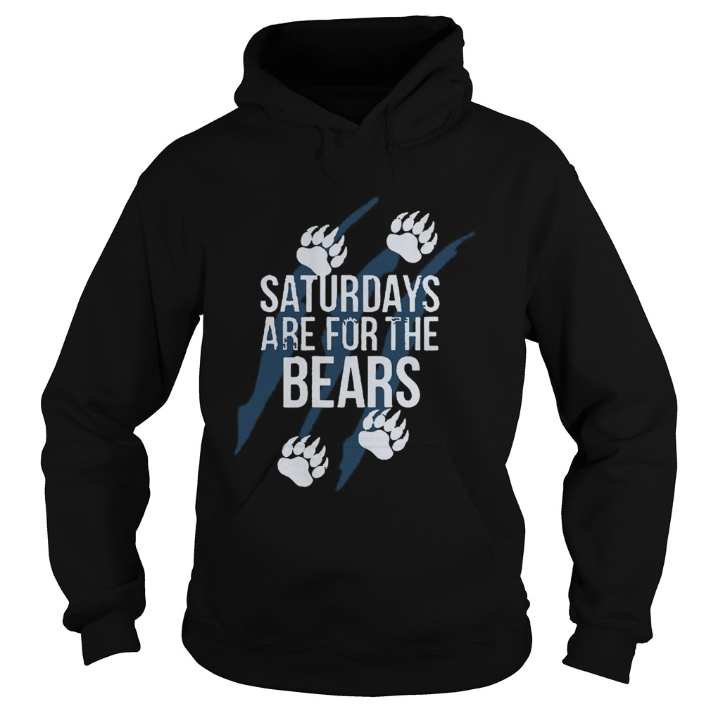 Saturdays Are For The Bears Me  Hoodie