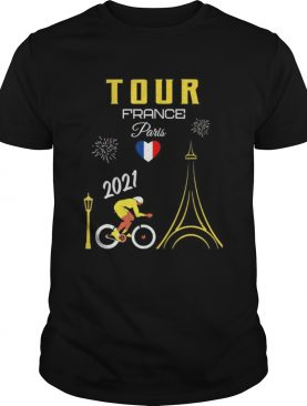 Tour France French Bicycle Racing Summer cycle 2021 shirt