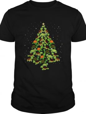 Turtles Tree Christmas shirt
