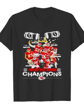 2828 Afc West Division Champions Kc Football shirt