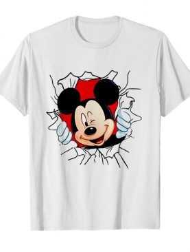 Blood In Side Me Mickey Mouse shirt