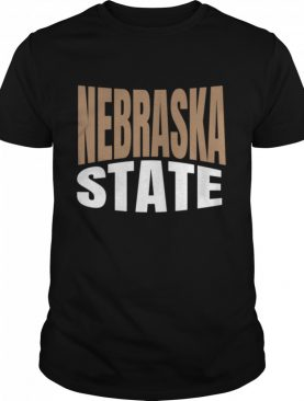 Nebraska State Travel shirt