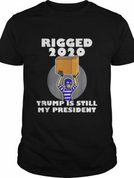 Rigged 2020 Trump Is My President Sleepy Joe Anti Biden Vote shirt