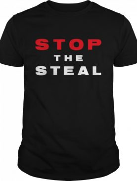 Stop The Steal Trump 2020 Voter Fraud Election Results Rally shirt