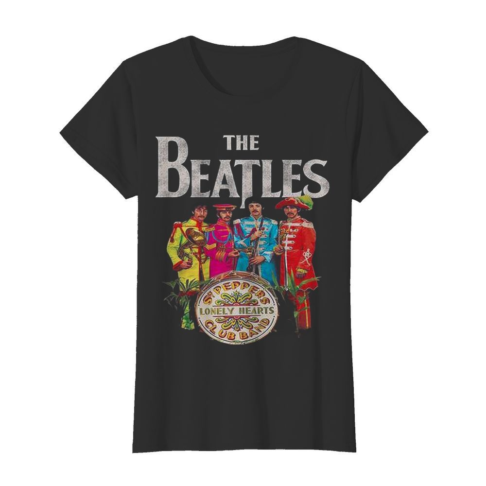The Beatles Rock Band Lonely Hearts Club Band  Classic Women's T-shirt