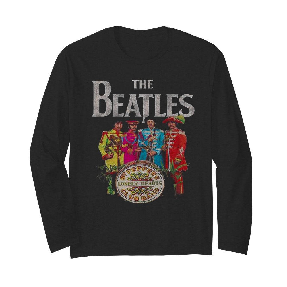 The Beatles Rock Band Lonely Hearts Club Band  Long Sleeved T-shirt