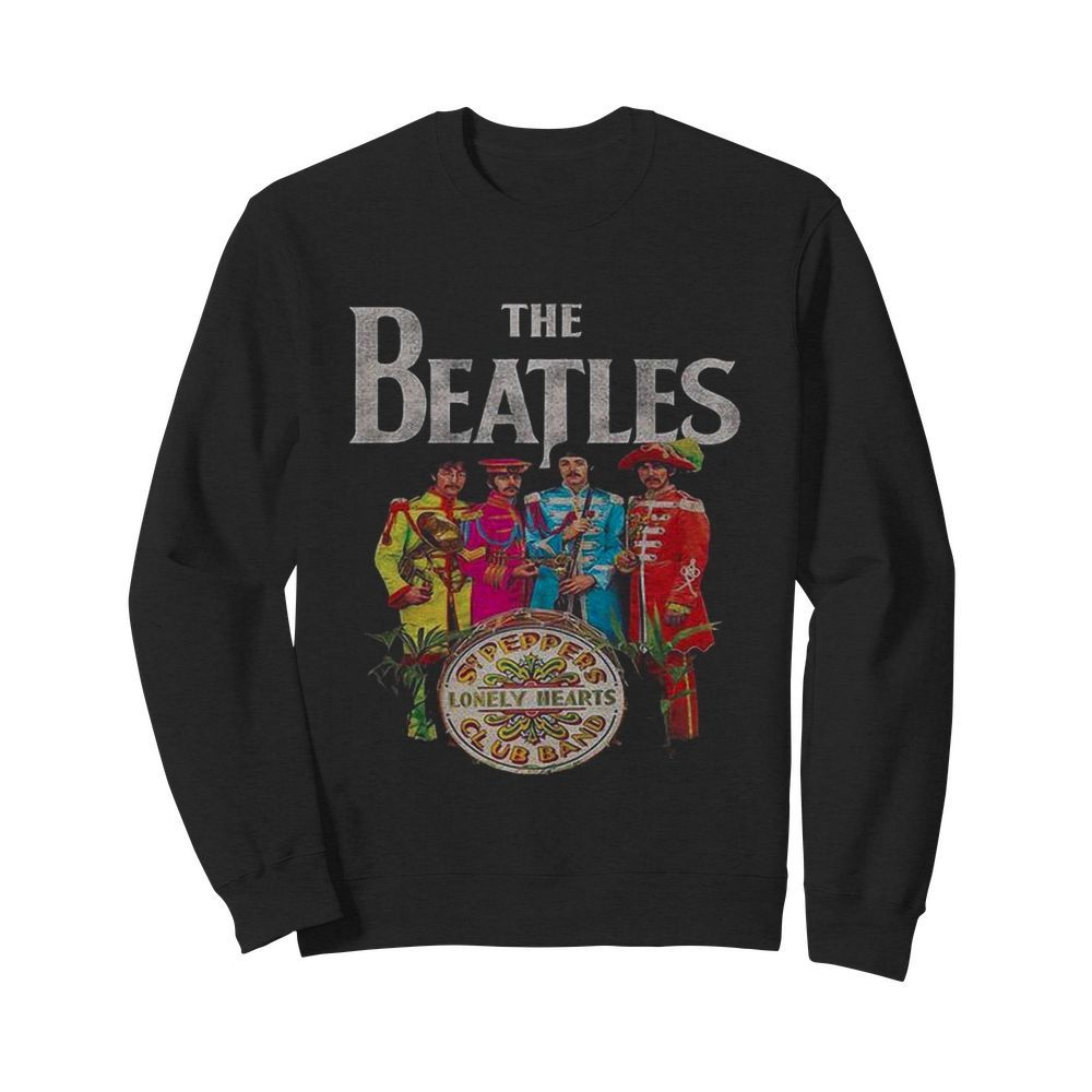 The Beatles Rock Band Lonely Hearts Club Band  Unisex Sweatshirt