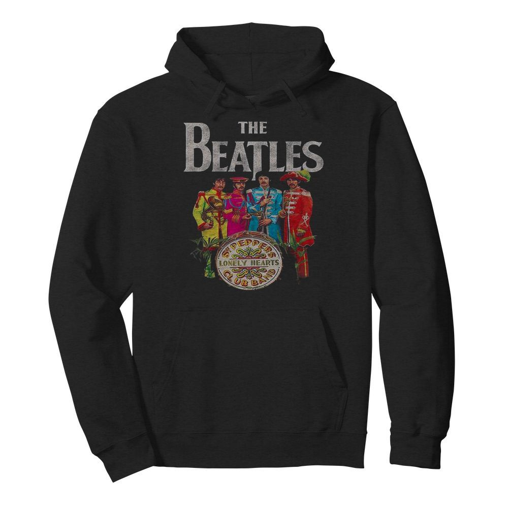 The Beatles Rock Band Lonely Hearts Club Band  Unisex Hoodie