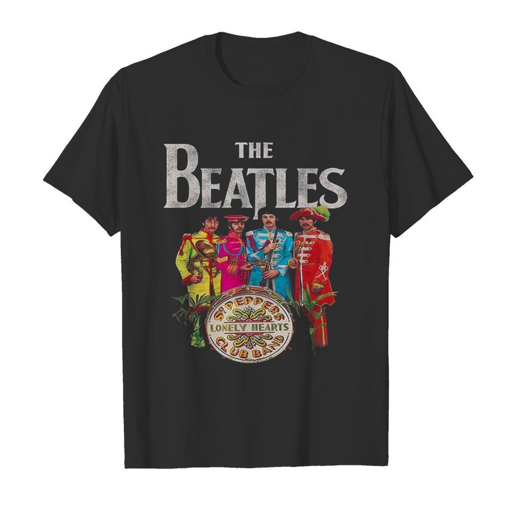 The Beatles Rock Band Lonely Hearts Club Band  Classic Men's T-shirt