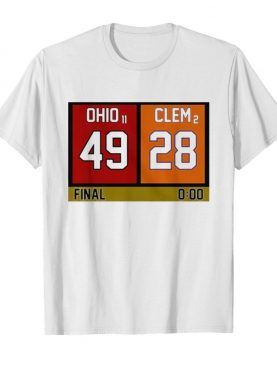 Ohio 49 Clem 28 shirt