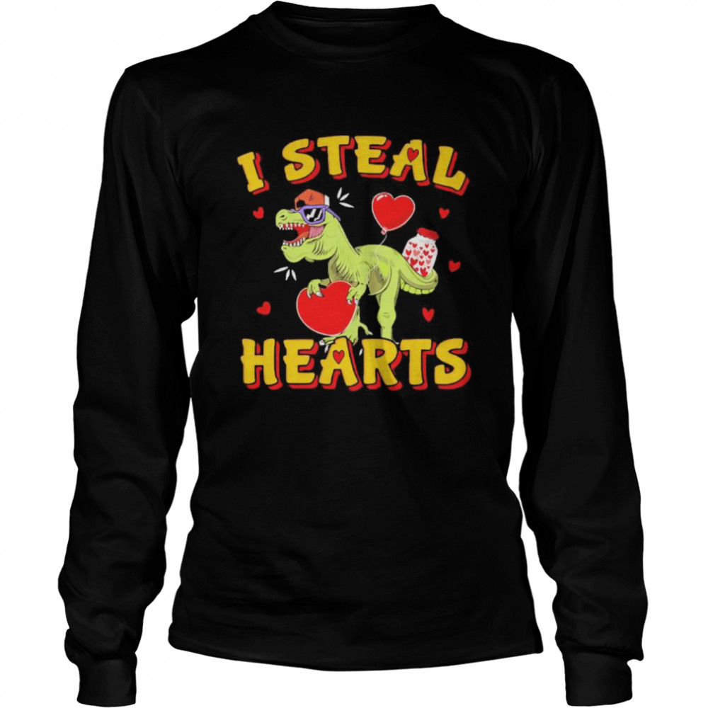 heart i steal hearts  Long Sleeved T-shirt