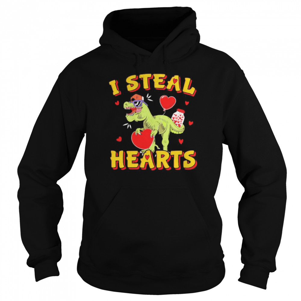 heart i steal hearts  Unisex Hoodie
